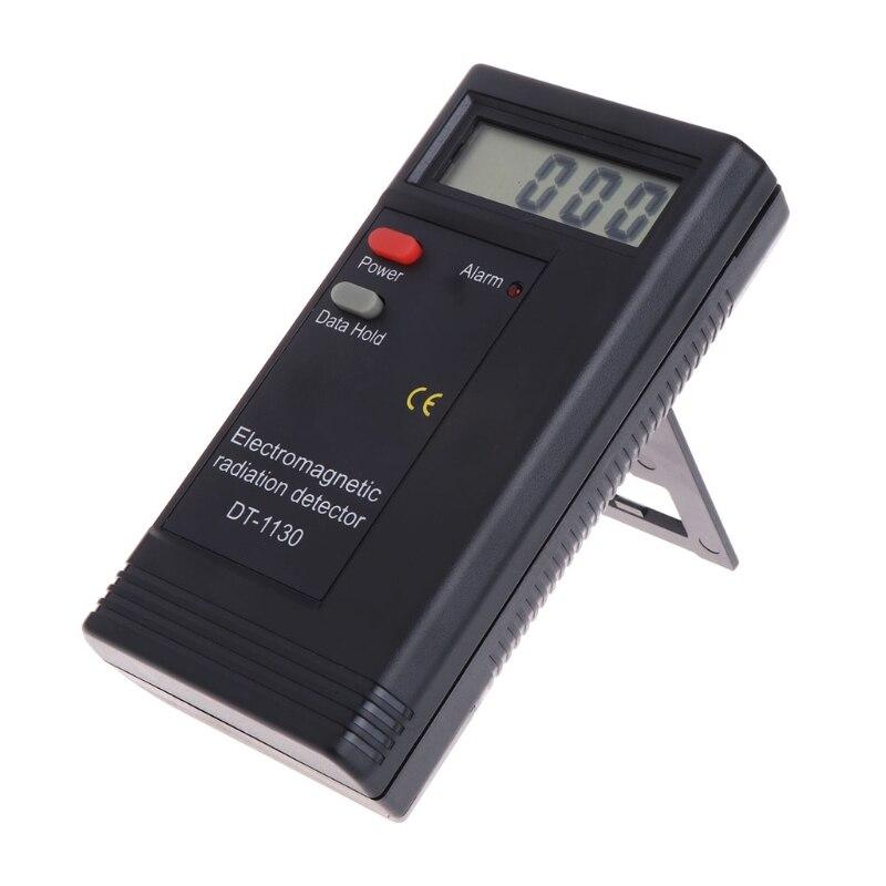 Detector de radiación electromagnética LCD medidor de EMF Digital dosímetro DT1130