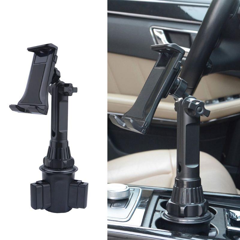 Регулируемый автомобильный держатель для стакана, подставка для сотового телефона 3,5-12,5 дюймов для смартфонов и планшетов
