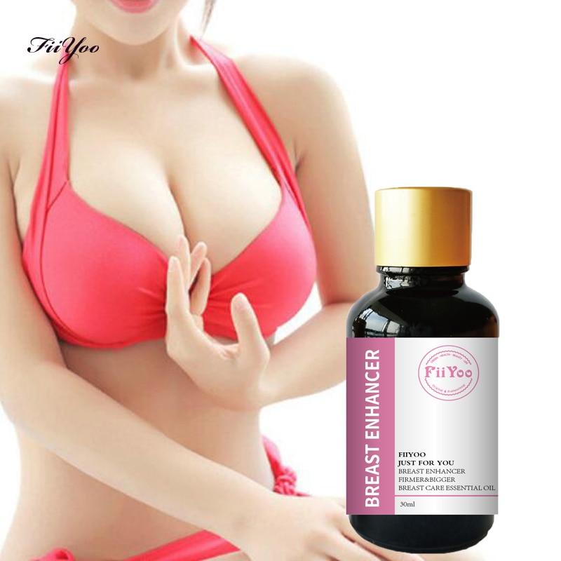 (2 bottles supply) FiiYoo 30ml Breast Enlargement oil lift butt firming breast big bust chest massage natural essential oil