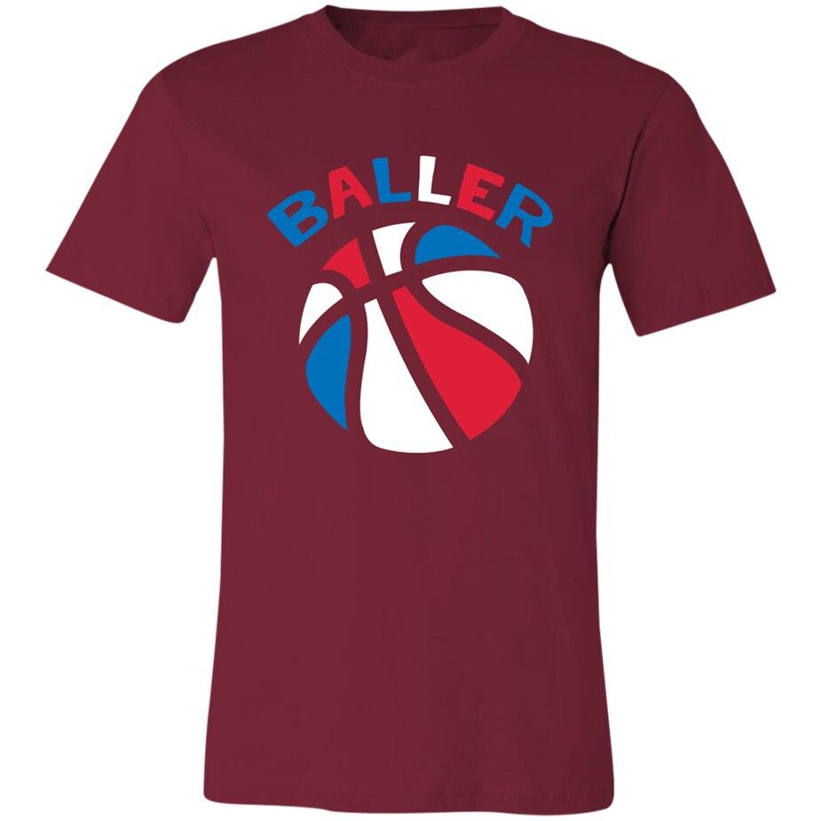 Baloncesto, camiseta, vieja escuela, Retro, 70_S, 1970_S, Aba, Le Bro, camiseta, camiseta de verano de tienda