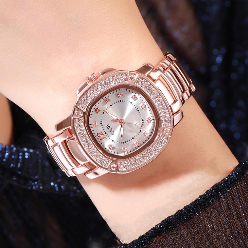 Luxury Fashion Women's watches Bracelet Watches Women Diamond Waterproof Quartz Ladies Dress watch for women relogio feminino enlarge