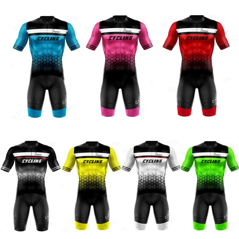 2020 Pro Team Scotting White Cycling Clothing Bike Jersey Ropa Mens Bicycle Summer Pro Cycling Jerseys 19D Gel Pad Bike Shorts