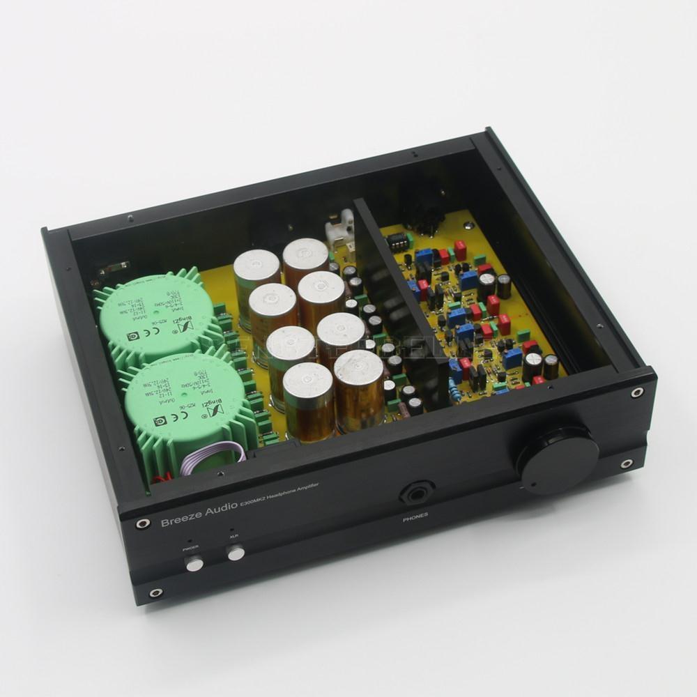 Amplificateur de casque de bureau HiFi E300MK2 nouvellement répertorié basé sur le Circuit électrocompany
