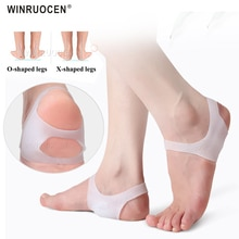 WINRUOCEN Arch Support X/O-type Foot Corrector Insoles Flat Feet Lightweight Brace For Men And Women