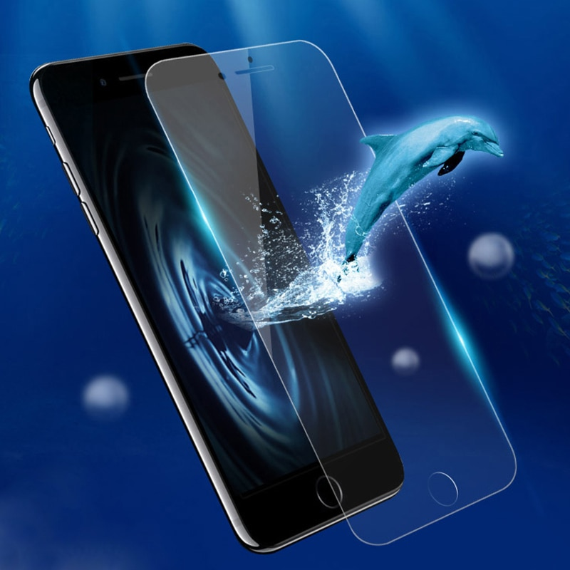 2021 New For iPhone 8 Phone Anti-broken High Clear PET Water-proof Screen Protector Mobile phone acc