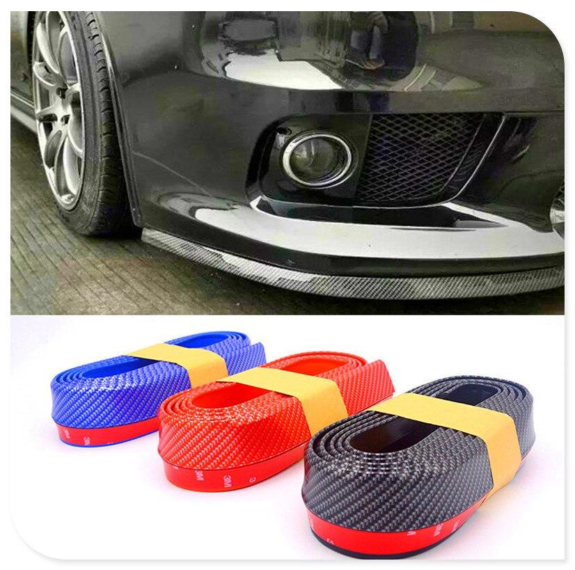 Tiras de coche Spoiler parachoques de puerta labio para Toyota Tacoma Tercel Tiara Van Venza Yaris Hiace Prius V Hilux tierra Cruis
