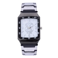 relojes mujer new fashion famous brand bear watch women dress square quartz watches montres casual silicone wristwatches relogio