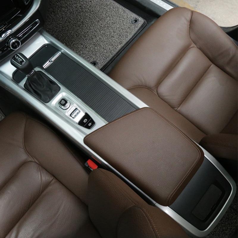 Автомобильные аксессуары для Volvo xc60, декоративный подлокотник с центральным управлением, яркая рамка для стойки, наклейки для интерьера 2018, ...