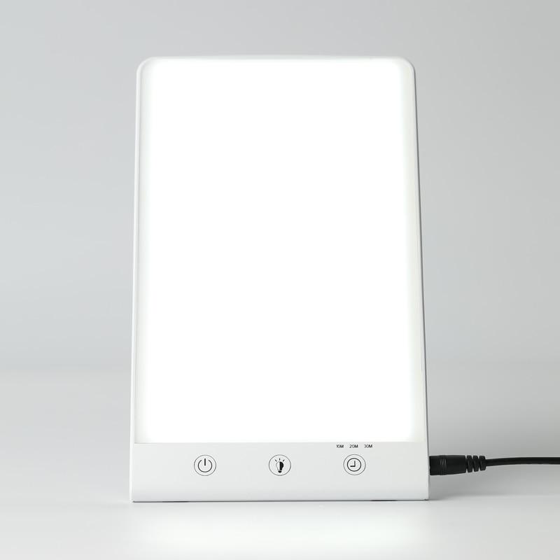 مصباح علاج حزين 6500 كيلو ، علاج ضوئي ، محاكاة ضوء النهار الطبيعي ، USB ، علاج حزين