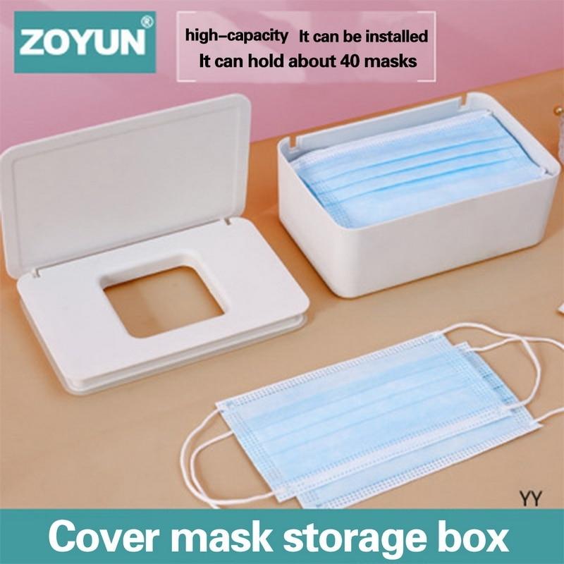 Tejido caja mantener máscara caja de toallitas almacenaje de pañuelos cajas cocina baño proveedor de cajas de papel de caja de máscara salvar organizador