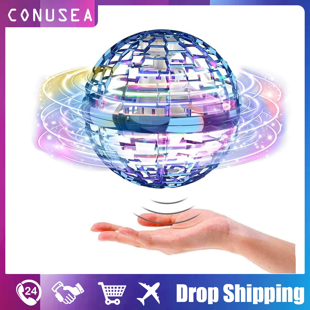 Flynova Pro soaring Spinner boomerang Ball Magic wand control Flying Toys Hand Operated Mini Drones