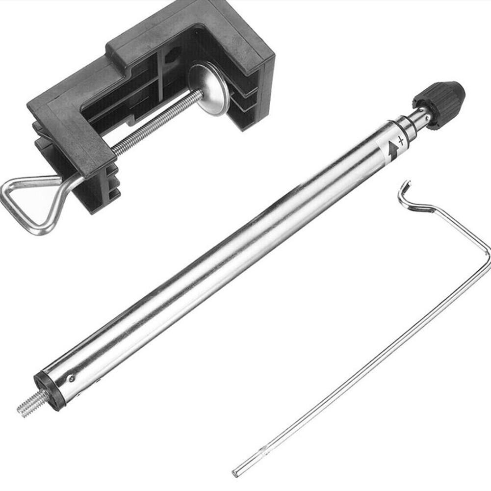 Accesorios de soporte de amoladora rotativa de 360 grados Mini abrazadera de eje Flexible de acero amoladora eléctrica porta accesorios colgador