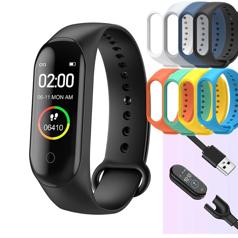 M4 Smart Watch bluetooth 4.0 Sport Bracelet Wristband iOS Android Fitness Tracker Smartwatch Women Blood Pressure Pedometer
