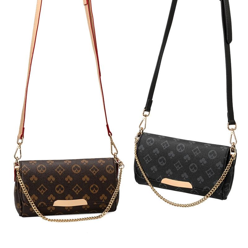 2020 women Shoulder Bag with Chain Print Bag louis luxury Designer Crossbody Bags Luxury Brand Purses and Handbags high Quality