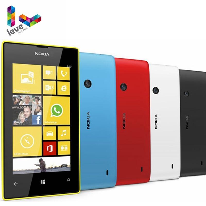 Nokia Lumia 520 Original teléfono móvil Dual Core 3G WIFI GPS 4,0...