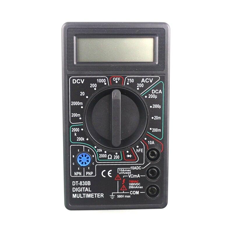 Digital Multimeter Tester DT830B LCD Display Voltmeter Ammeter Ohmmeter DC10V~1000V 10A AC 750V  Tester Test