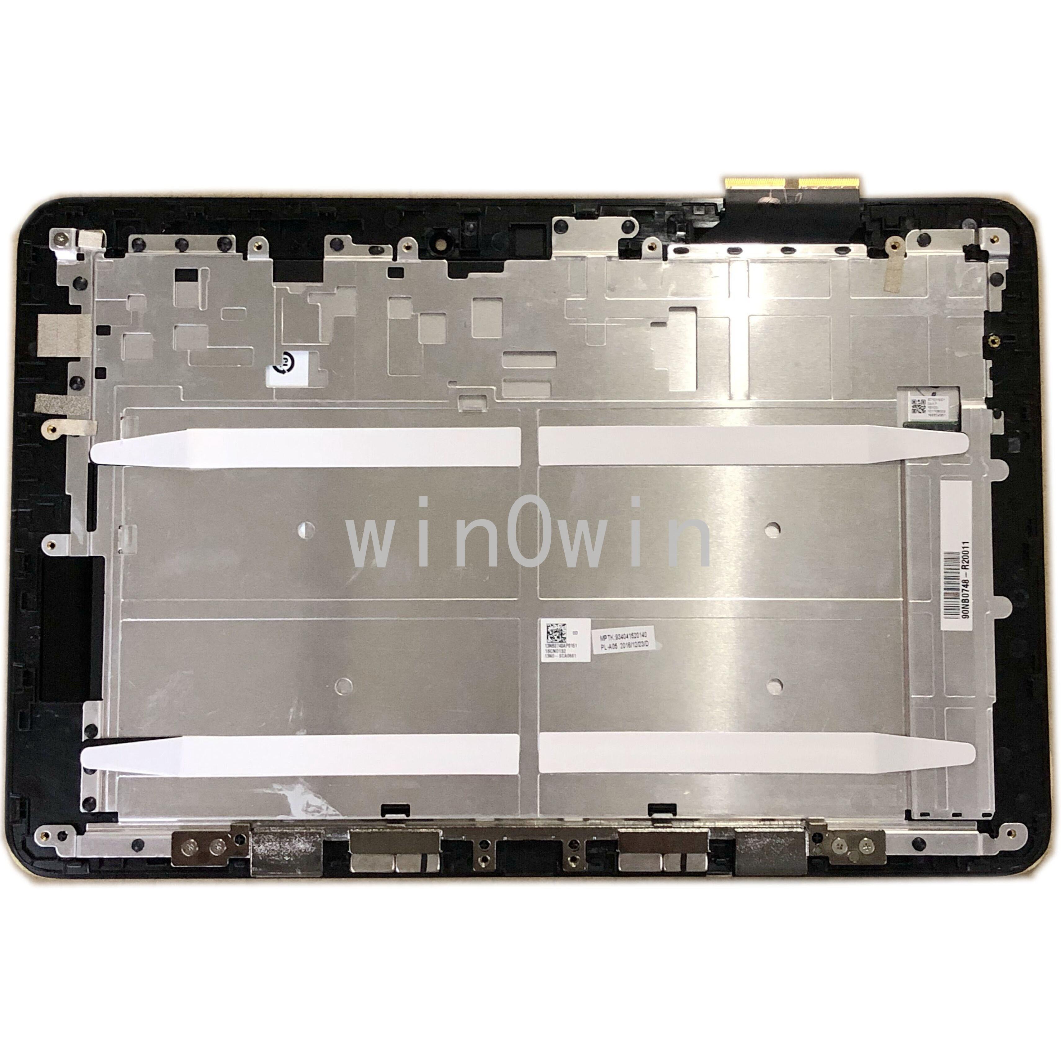 LCD LED شاشة تعمل باللمس الجمعية محول الأرقام مع إطار أسود ل ASUS محول كتاب T100H T100HA FP-ST101SI010AKF-01X
