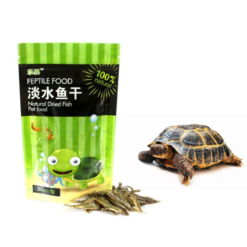 Bolsa de 250 ml/bolsa de peces, peces secos de agua dulce, tortugas de alimentación, tortuga brasileña, alimento para mascotas, suplemento de calcio C6UE
