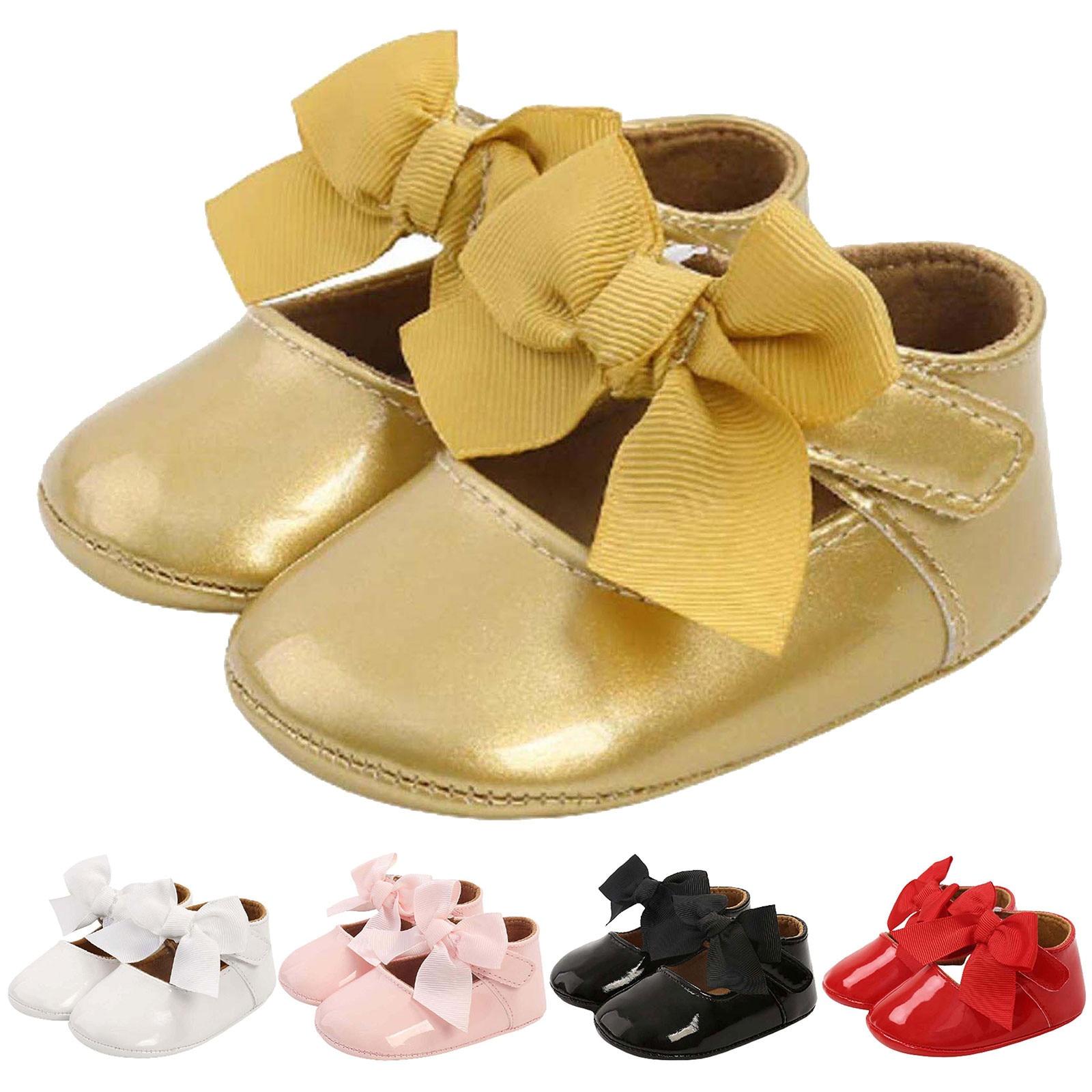 Kids Shoes Girls Shoes Baby Girl Flat Shoelace Bowknot Non-slip Toddler Princess Dress Toddler Chaussure Fille детская обувь