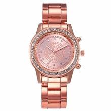 womens watches top brand Diamond diamond studded women's watch alloy steel with rose gold watch fashion quartz watch