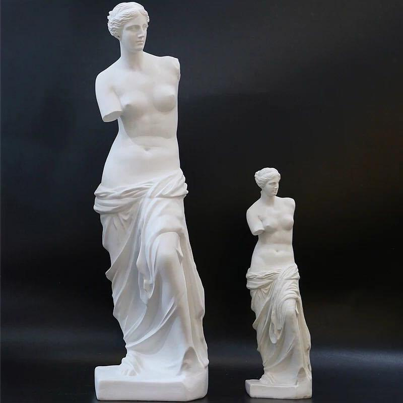 Nórdicos brazo roto Venus abstracto resina figura de escultura de decoración para el hogar Decoración artesanal estatua griega Europea ornamento
