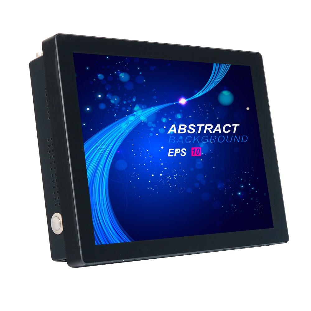 كمبيوتر لوحي صناعي 12.1 بوصة بشاشة لمس تكاثفية كور i3 i5 i7 J1900 بوليت-in Wifi 232 Com كمبيوتر صناعي