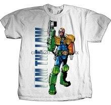 Camiseta JUDGE dred-the Law S-M-L-XL-2XL nueva mercancía oficial de alta fidelidad