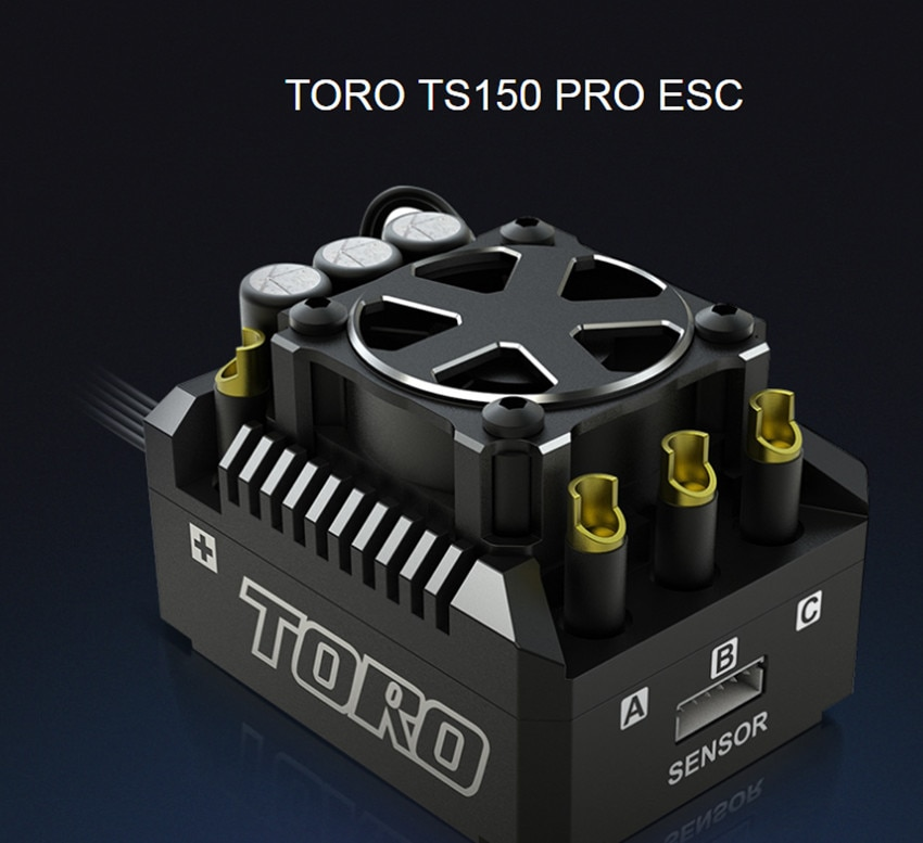 SKYRC de aluminio TORO TS150 sin escobillas Sensored ESC para 1/8 RC coche