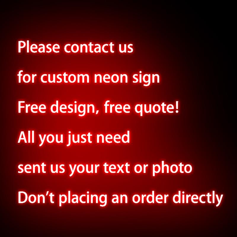 Drop Shipping Wedding Bar Shop Room Home Decor 12V LED Neon Light Sign For Christmas Gift Party Wedding Decor Neon LIGHT LAMP enlarge