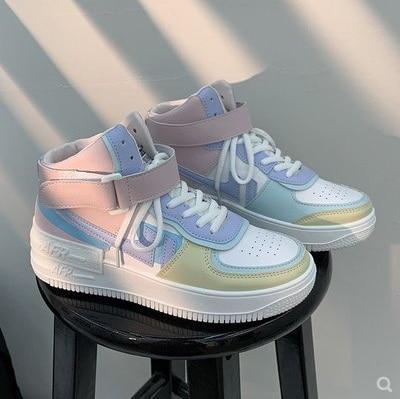 Fashion white sneakers women New non-slip high sneakers platform casual sneakers women shoes for women sneakers sneakers galvanni sneakers