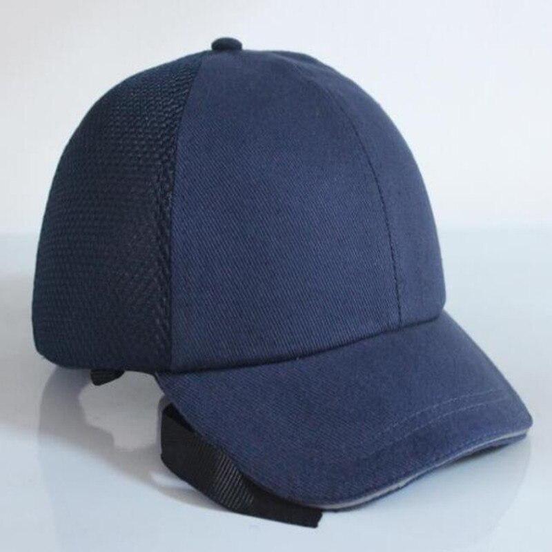 ABS Shell Bump Cap Arbeit Sicherheit Helm Sommer Sicherheit Anti-auswirkungen Leichte Helme Mode Casual Sonnencreme Schutz Hut