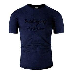 Мужская футболка с принтом зубного гигиениста Aka, Зубная фея, новинка, футболка, Мужская футболка с коротким рукавом, Графический Топ в стиле...