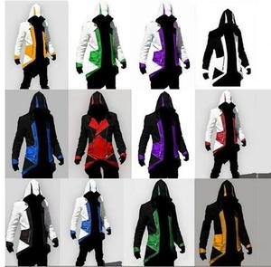 Video Game Assassinator Connor Kenway Jacket Various Colors