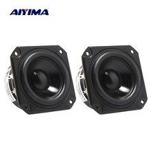 AIYIMA 2Pcs 3 Zoll Audio Lautsprecher 4 Ohm 40W Vollständige Palette Lautsprecher Fahrer Bücherregal Sound Loudapeaker Heimkino
