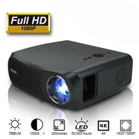 CAIWEI     projecteur A12 Full HD  1920x1080P  Android 6 0  2 go   16 go  pour Home cinema 3D  connexion Bluetooth  4K