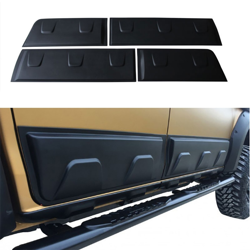 Подходит для Isuzu d max 2016 2019 облицовка корпуса внешний молдинг боковой двери