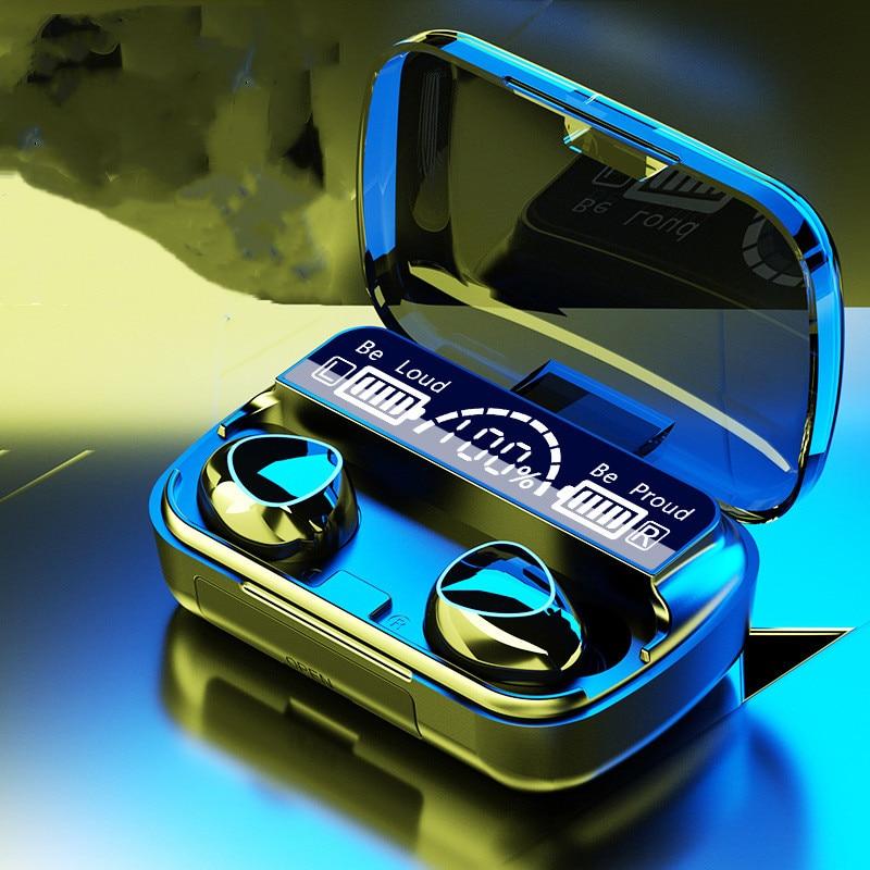 TWS سماعات بلوتوث 5.1 سماعات الصوت HiFi Setero سماعات لاسلكية 3500mAh صندوق شحن سماعات مقاومة للماء مع ميكروفون