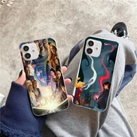 once upon a time phone case for iphone 5s 6 7 8 11 12 plus xsmax xr pro mini se transparent cover fundas coque