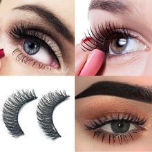 4 pièces 3D Double magnétique faux cils Arc Invisible naturel Ultra-mince faux cils pour les femmes maquillage des yeux