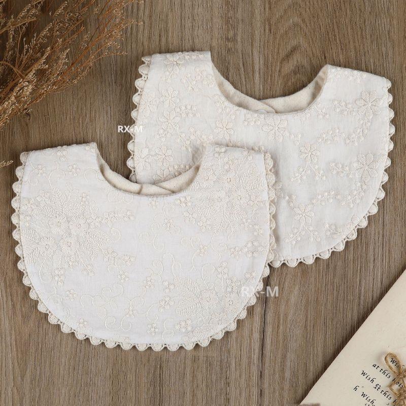 AliExpress - Newborn Baby Boys Girls Embroidery Saliva Printing Saliva Towel Kids Toddler Feeding Burp Cloth Cotton Bib Scarf