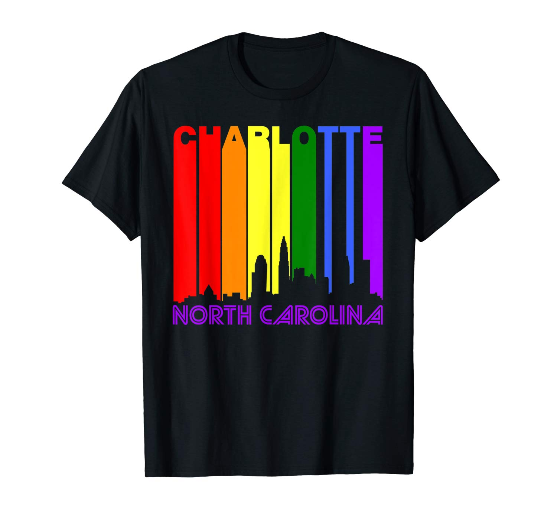 Camiseta con imagen del orgullo Gay, de Charlotte, Carolina del Norte, Lgbtq