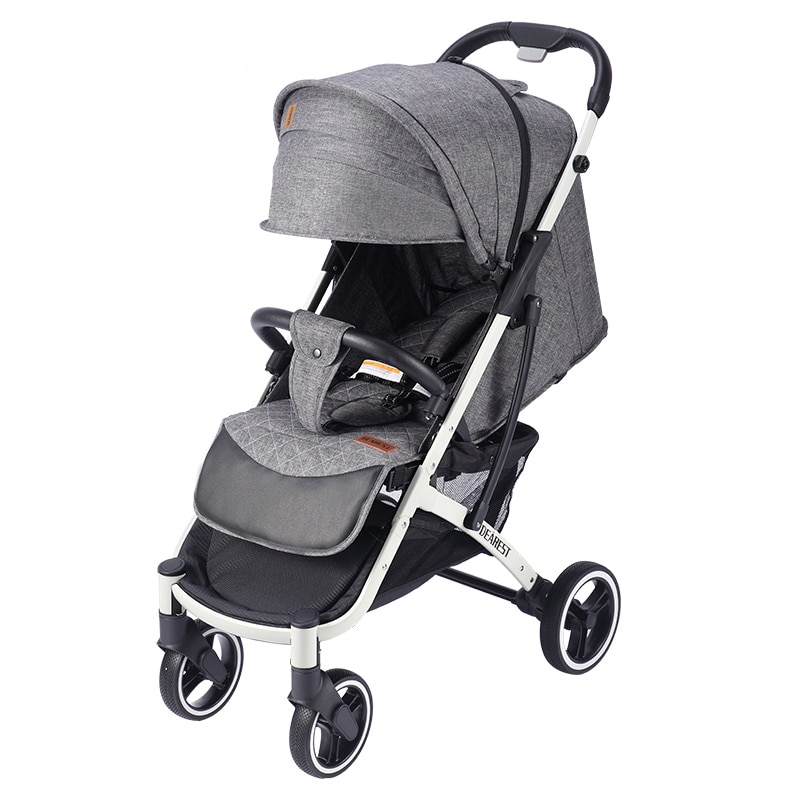 Dearest 818 + Stroller Can Sit Or Lie Lightweight Folding High Landscape Shock Absorption Newborn Children's Baby Stroller