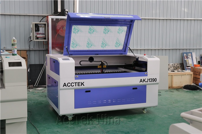 150w 180W Laser Cutting Machine 1610 1390 Co2 Laser Engraving Cutting Machine With Water Chiller enlarge