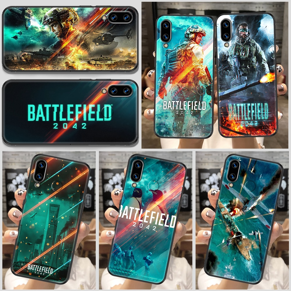 Battlefield 2042 Game Phone Case For Huawei Honor 6A 7A 7C 8A 8X 8 9 9X 10 10i 20 Lite Pro black soft back painting hoesjes