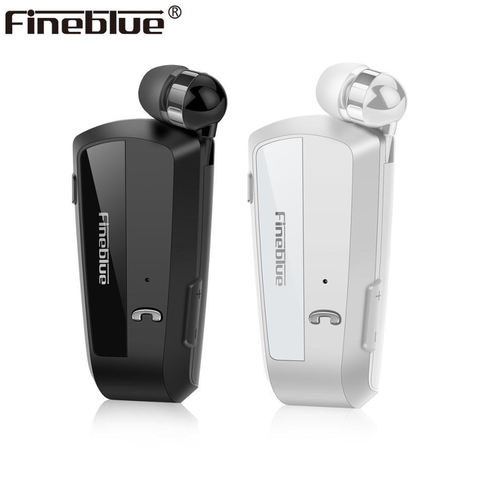 Fineblue-auriculares inalámbricos F990 con de negocios con Bluetooth, dispositivo telescópico con Clip...