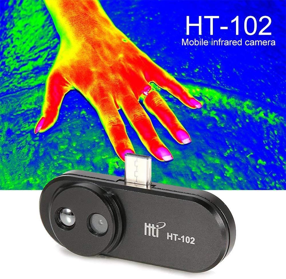 HT-102 мобильный телефон Термальность Инфракрасный Тепловизор Поддержка видео и фото для Android Тип C Термальность изображений Температура детектор