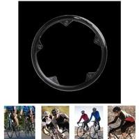 48 teeth 5 holes mtb bicycle chain wheel bike crankset cap protect cover guard plastic 10 cm equipment accessories