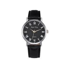 Men Casual Sports Business Wristwatch Fashion Leather Military Quartz Watch For Male Dress Analog Wa