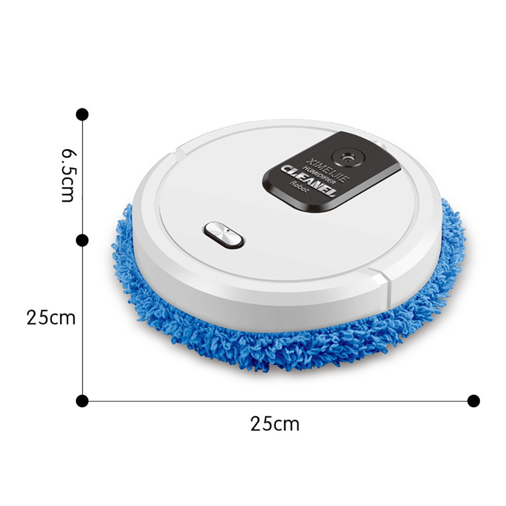 Three In One Intelligent Sweeping Robot Vacuum Cleaner Rechargeable Dry And Wet Lazy broom for both dry and wet use pool new 83 enlarge