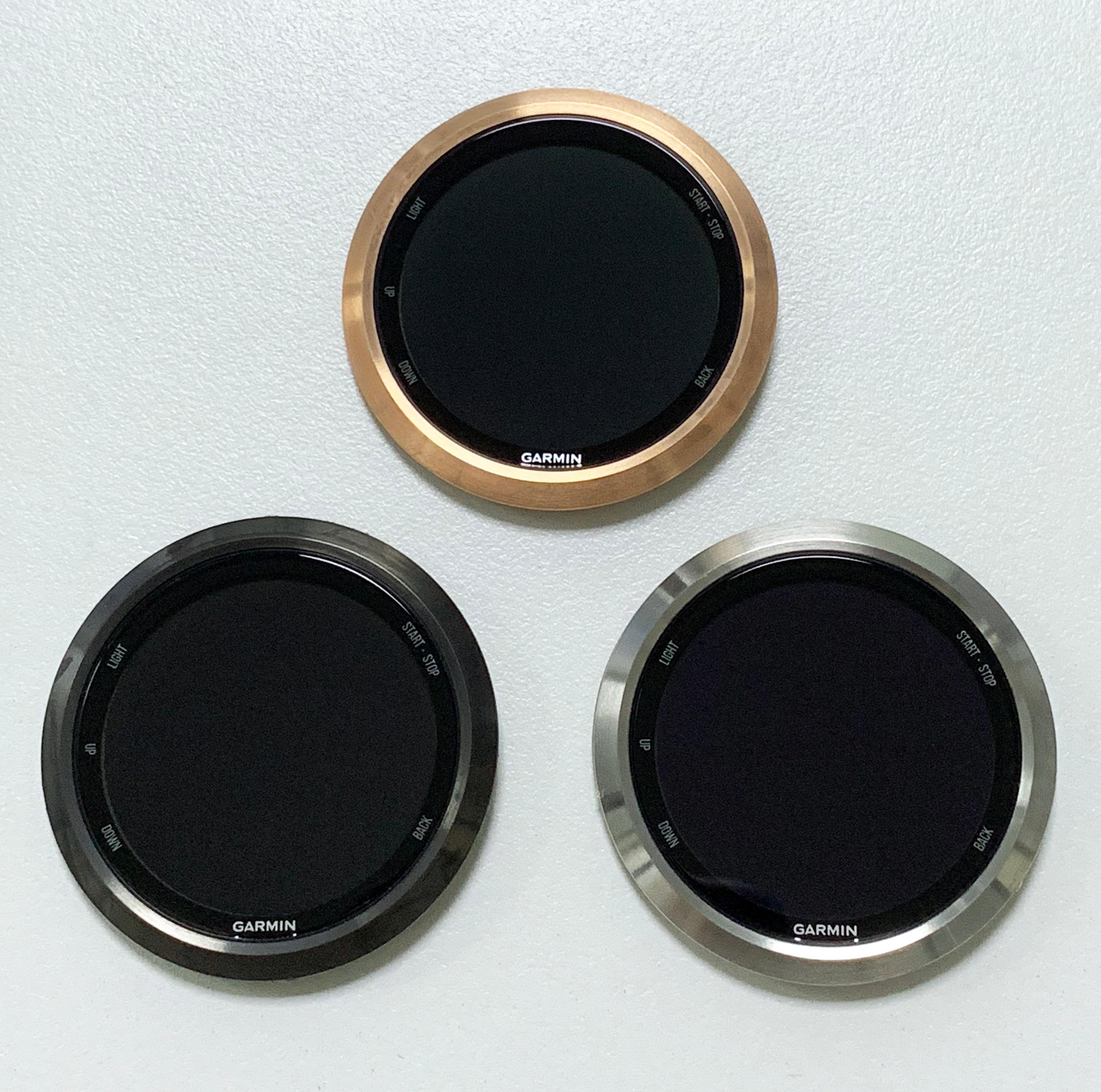 شاشة LCD الأصلية GARMIN Forerunner 645 645 متر الموسيقى أسود/فضي/ذهبي شاشة عرض لوحة مرقمة ساعة استبدال أجزاء